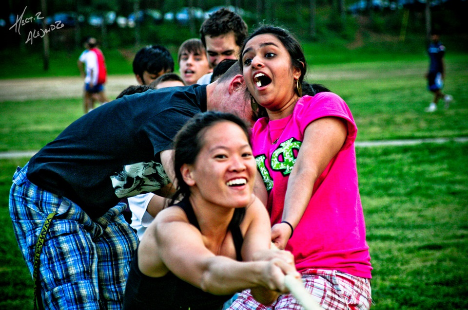 Picnic games are a fun, low-cost way to get together with your loved ones and have a good time. What makes picnics even better? Picnic games tug of war