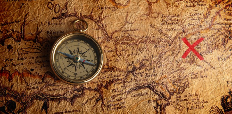 Whether you're young or not-so-young, adventures are always afoot in an indulgent game of treasure hunt. treasure map
