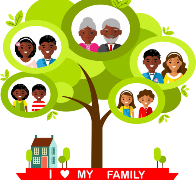 make family tree with your child