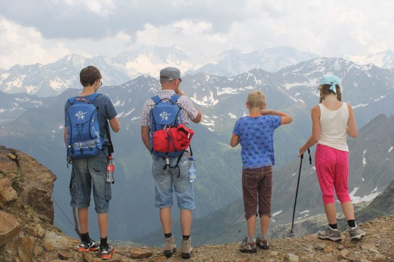 Affordable Family Adventure Vacation on a mountain valley