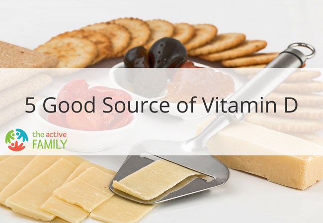 5 Good Source of Vitamin D