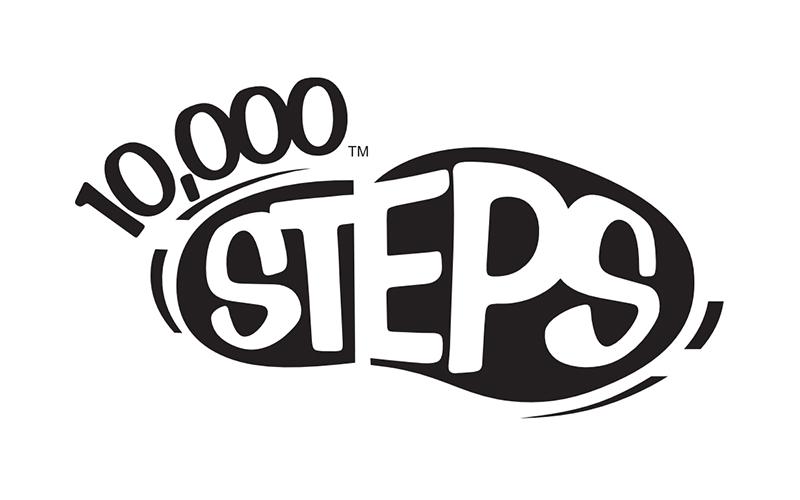 10000 steps