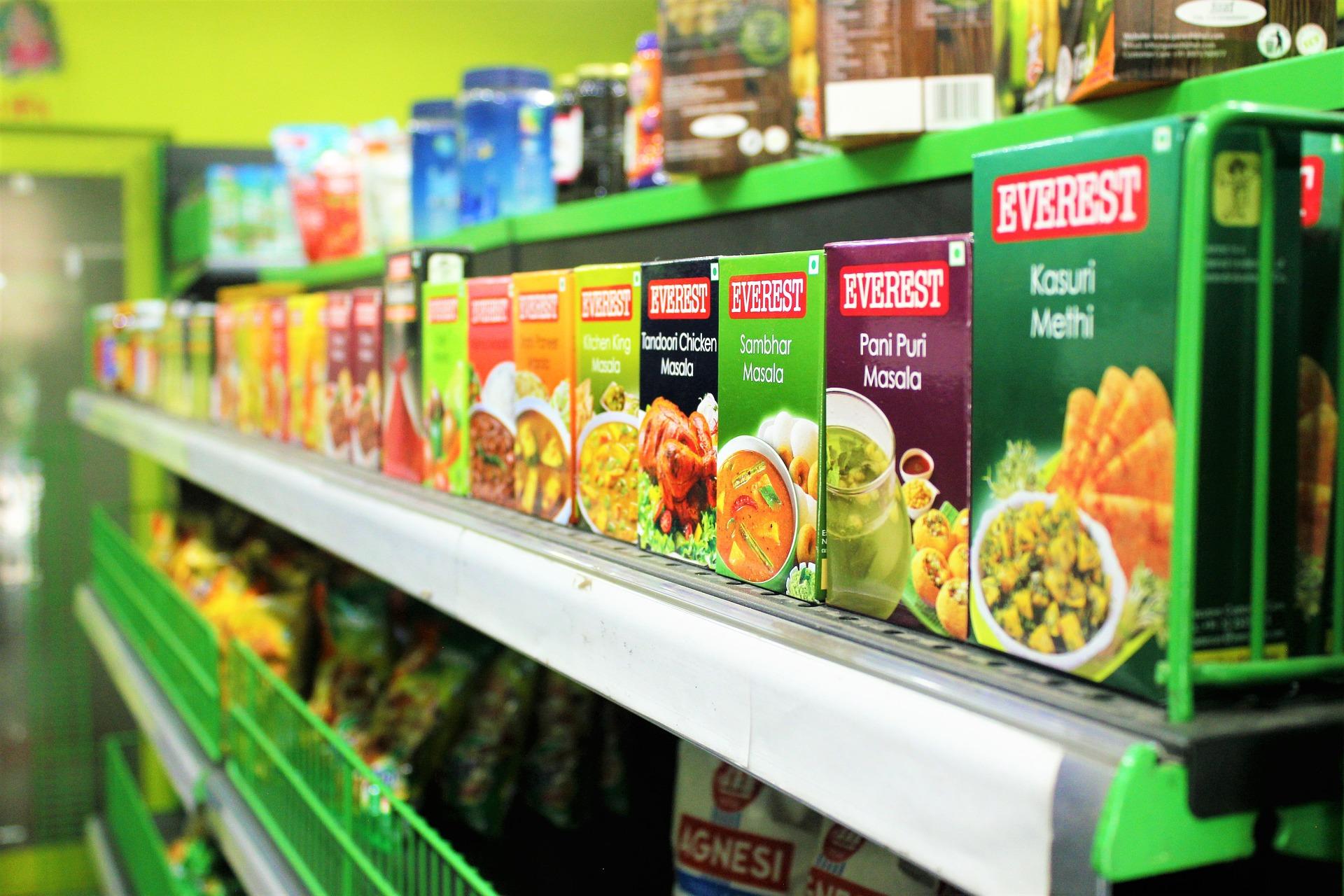 boxed Nonperishable Foods